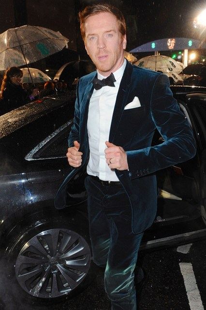 Damian Lewis in Burberry