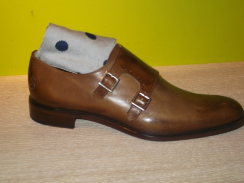Perfect man's shoe of choice - the monk strap