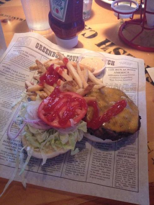 Bubba Gump Burger