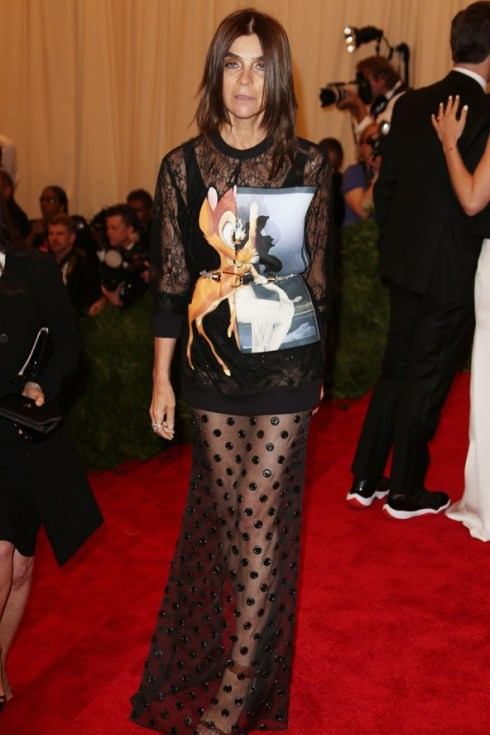 Carine Roitfeld did it. That means you have to.
