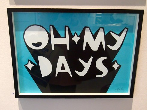 Oh My Days Artwork